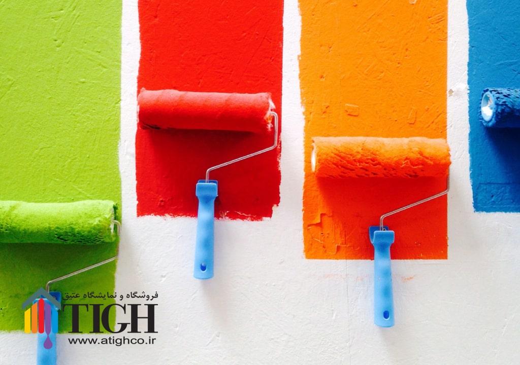 رنگ آکریلیک (بدون بو ) پیکو کالر