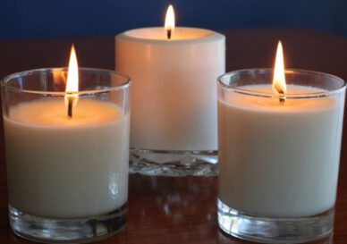 آموزش شمع سازی با پارافین