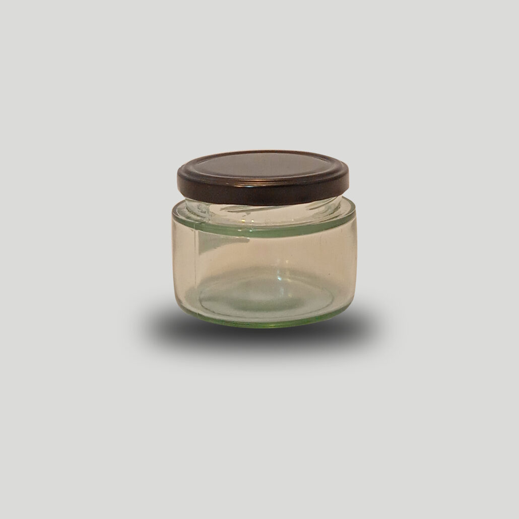 ظرف شیشه ای شمع سازی